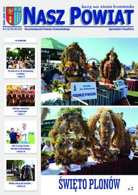 Nasz Powiat nr 4 2015 strona 1