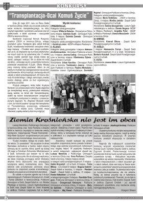 Nasz Powiat nr 3 V VI 2011 strona 6