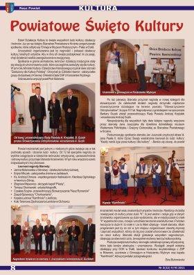 Nasz Powiat nr 3 V VI 2011 strona 8