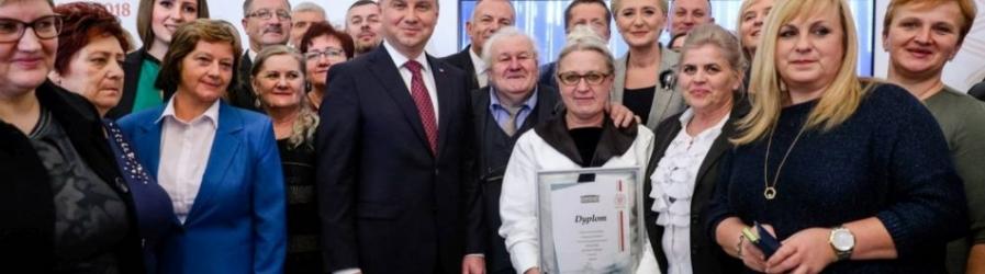 Nominacja dla Mirosławy Widurek