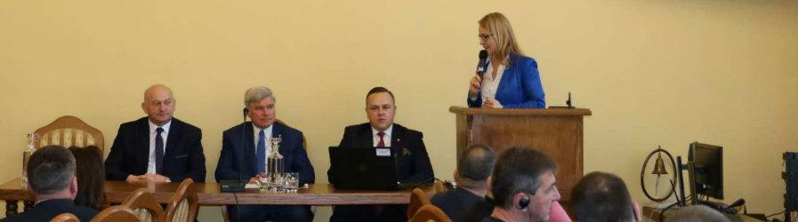 Samorządowcy z Ukrainy z wizytą w Krośnie