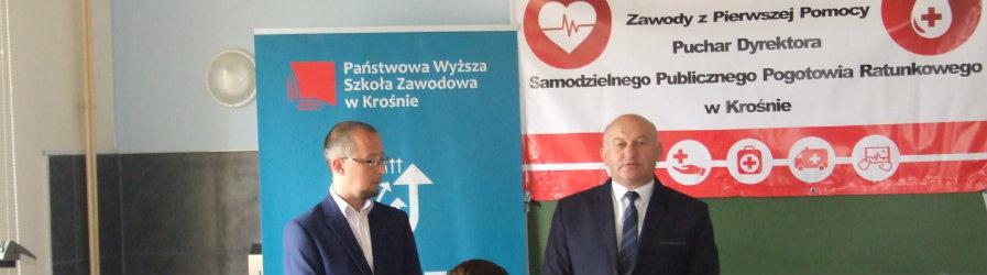 Zawody z Pierwszej Pomocy o Puchar Dyrektora SPPR w Krośnie