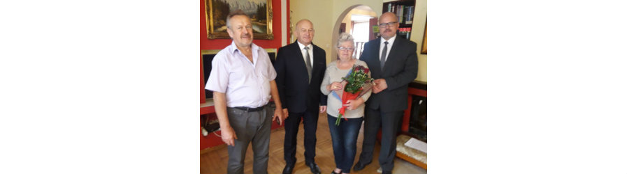 Pożegnanie Anny Guzik Dyrektor RDD w Głowience