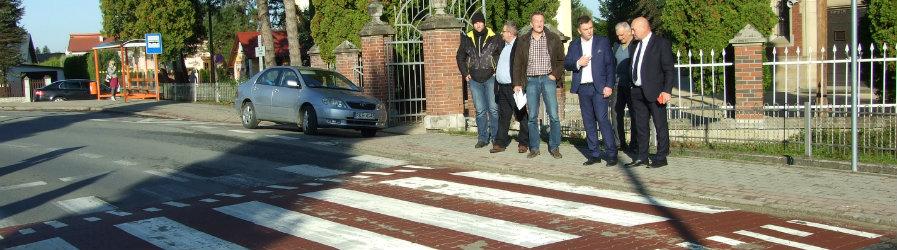 Bezpieczne przejścia dla pieszych w Krościenku Wyżnym