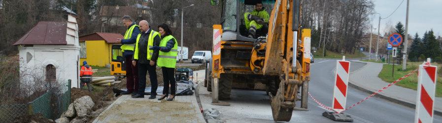 Wkrótce powstanie nowy chodnik w Jedliczu
