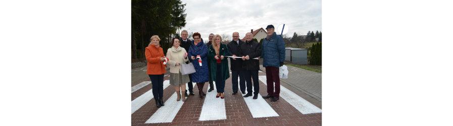 Przebudowa drogi powiatowej z Funduszu Dróg Samorządowych