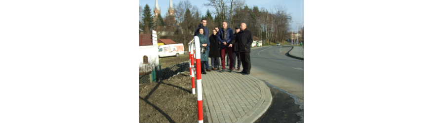 Nowy chodnik w Jedliczu