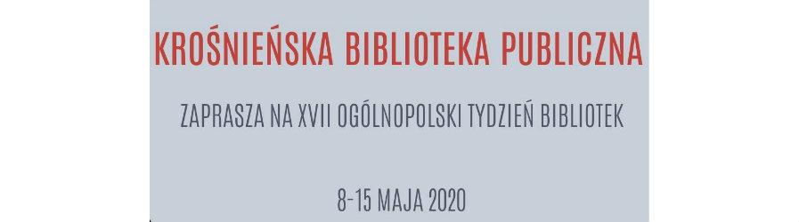 """XVII Ogólnopolski Tydzień Bibliotek – """"Zasmakuj w bibliotece""""  w Krośnieńskiej Bibliotece Publicznej"""