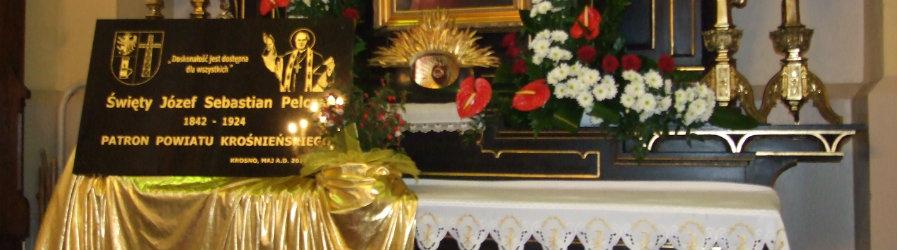10. rocznica ustanowienia św. Józefa Sebastiana Pelczara Patronem Powiatu Krośnieńskiego
