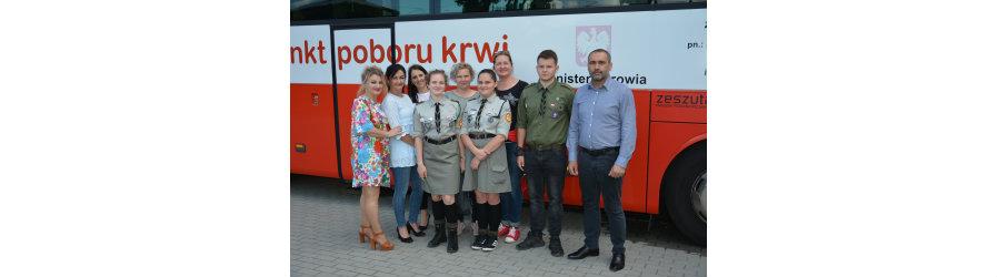 Prawie 28 litrów krwi oddali mieszkańcy gminy Dukla  i gmin ościennych