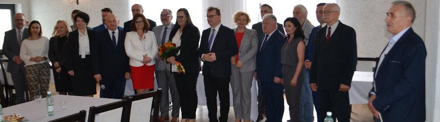 Minister Małgorzata Jarosińska-Jedynak z wizytą w Rymanowie