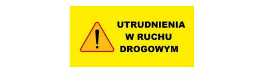 Utrudnienia na drodze powiatowej w Korczynie