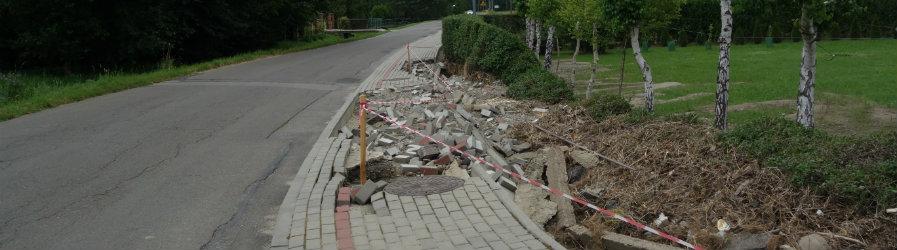 Powiat oszacował straty powodziowe