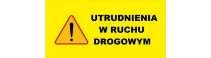 Utrudnienia na drodze powiatowej w Klimkówce
