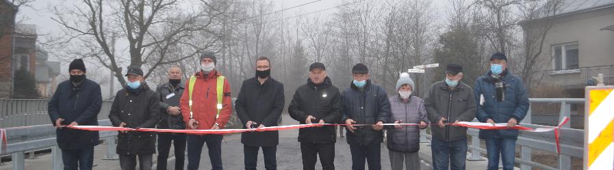 Zakończono pierwszy etap inwestycji drogowej w Klimkówce