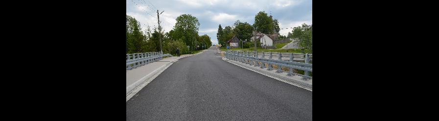 Poprawa infrastruktury drogowej poprzez remont mostu w ciągu drogi powiatowej nr 1976R Krosno – Rogi – Iwonicz wraz z dojazdami w m. Rogi