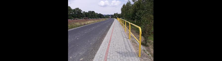 Przebudowa drogi powiatowej nr 1967R Korczyna – Krościenko Wyżne wraz z budową chodnika w m. Korczyna (ul. Akacjowa)