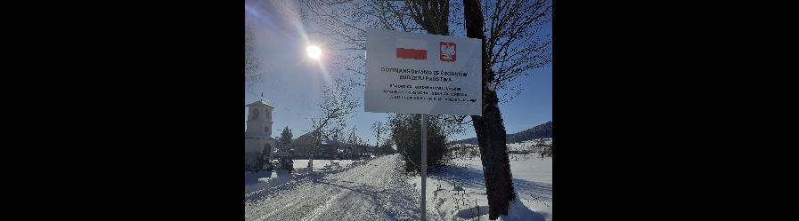 Remont drogi powiatowej nr 2116R Jaśliska – Czeremcha – Granica Państwa w km 1 + 100 – 3 + 510 w m. Jaśliska, Lipowiec