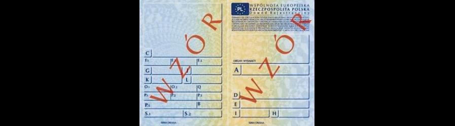 Informacja dotycząca kar pieniężnych za niezarejestrowanie oraz niezawiadomienie o nabyciu lub zbyciu pojazdu