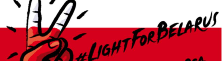 Światło dla Białorusi – Ogólnopolska akcja solidarności w Dniu Wolności Białorusi