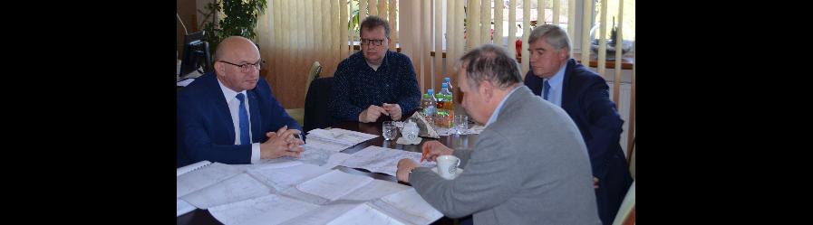 Robocze spotkanie dotyczące budowy drogi relacji Potok – Jedlicze