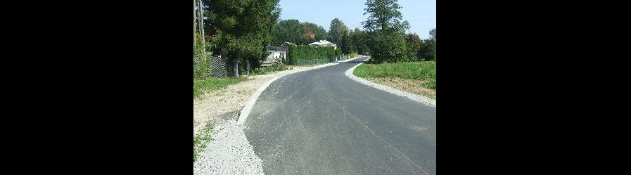 Inwestycje powiatowe na terenie gminy Wojaszówka