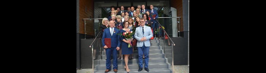 Odznaczenia państwowe dla pracowników Starostwa Powiatowego w Krośnie