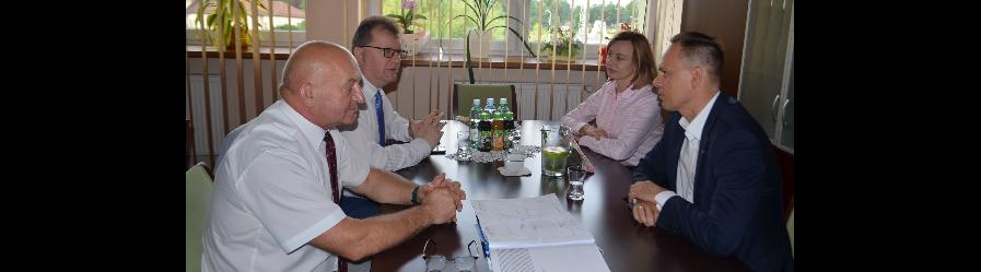 Spotkanie z wiceministrem infrastruktury Rafałem Weberem